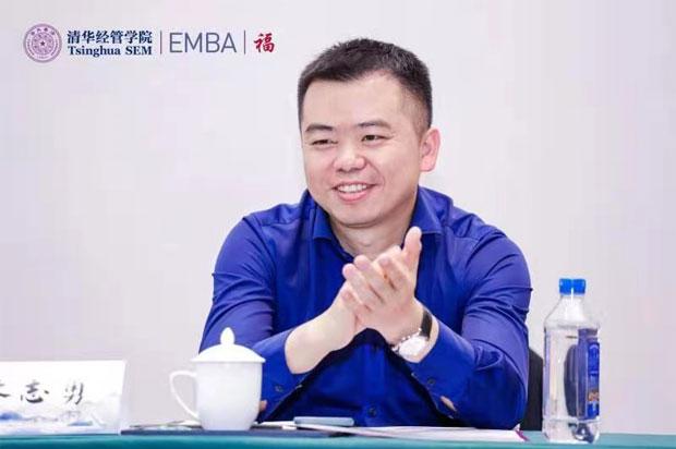 他说在清华EMBA收获的不仅仅是学识,还有惺惺相惜的伙伴,真的值了!