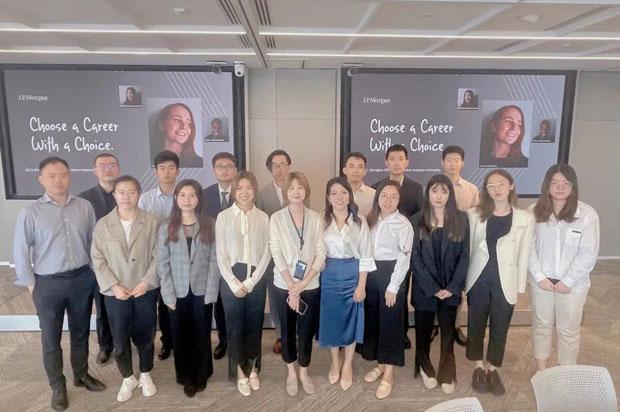 长江MBA-约翰•霍普金斯大学国际合作项目,5月份公司参访活动回顾