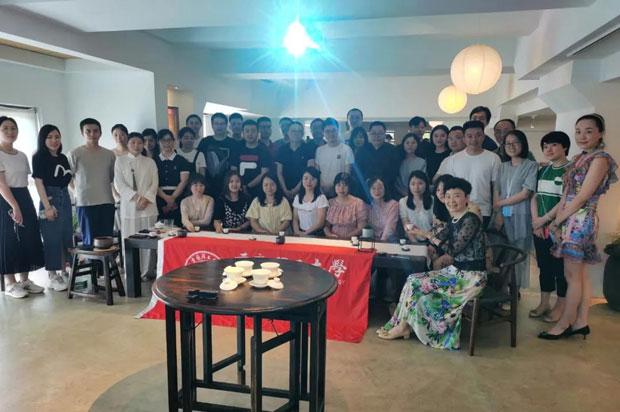 重庆理工大学MBA《餐饮文化与社交礼仪》移动课堂顺利开展