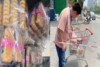 抗疫故事   长江大学MPAcc吴东来为洪家垸社区运送蛋糕食品