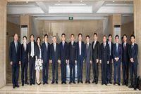大连理工大学MBA | 郭东明校长与松下集团代表董事、副社长本间哲朗会谈