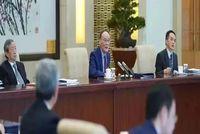 清华经管EMBA | 王岐山会见清华大学经济管理学院顾问委员会海外委员和中方企业家委员